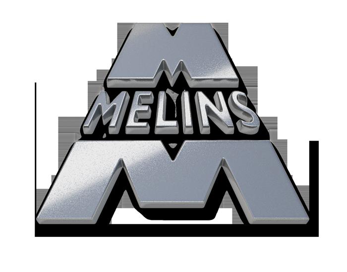 Melins Metall logotyp