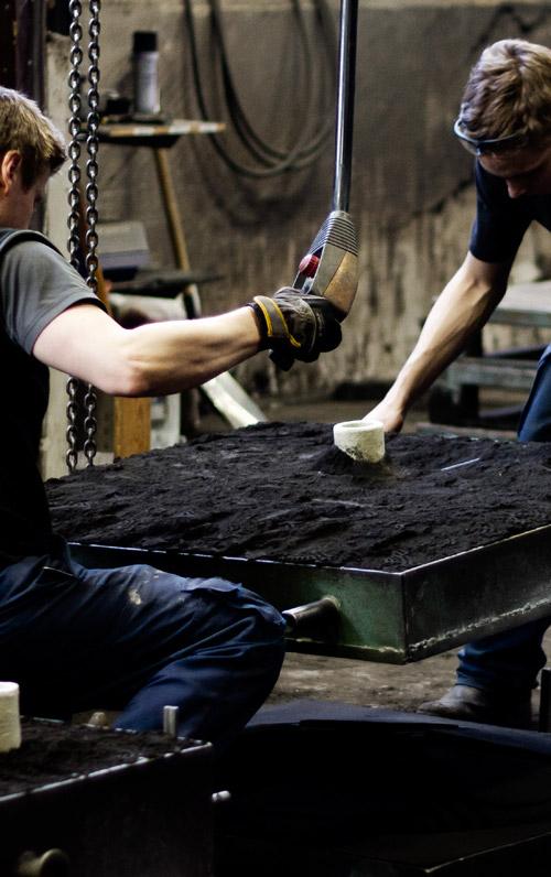 Medarbetare i produktion, Melins Metall